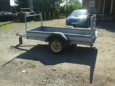 indespensiontrailer 8x4 with rear ramp no vat