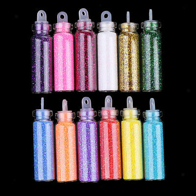 Glitter Dust Powder Set for Nail Art Tips Decoration Crafts Resin Jewelry 12