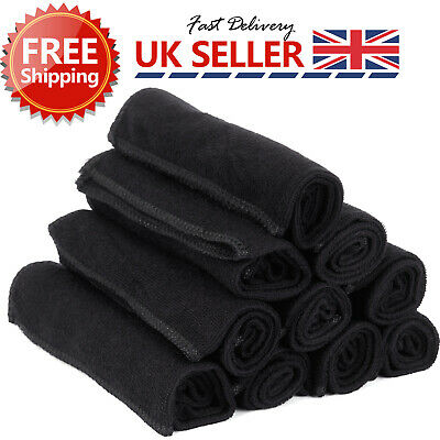10X Large Microfibre Home Kitchen Car Valeting Dusters Polishing Cleaning Cloths