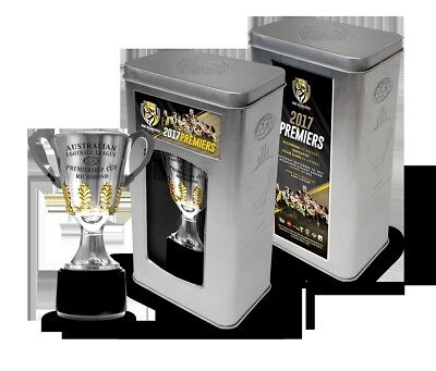 Richmond 2017 AFL Official Premiership Cup in Collectors Tin - IN STOCK NOW