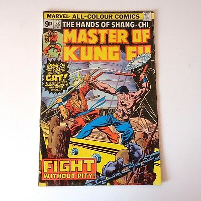 Master of Kung Fu #39 - Marvel - Doug Moench & Paul Gulacy