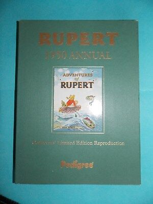Rupert Bear 1950 annual Reproduction