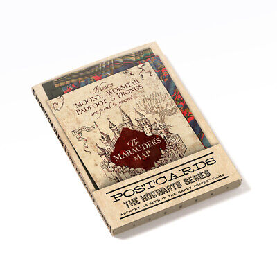 Harry Potter The Hogwarts Series Postcards Collection