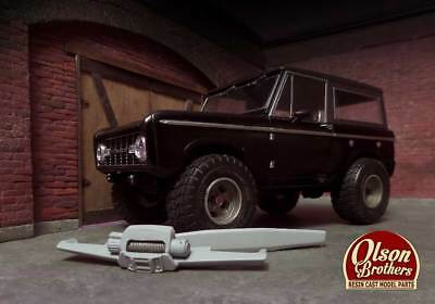 Olson Brothers Resin Plate Bumpers with Winch for Revell 1/25 Ford Bronco
