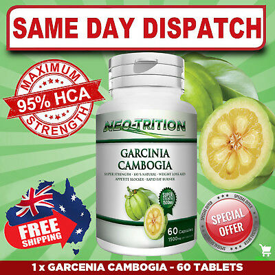 Garcinia Cambogia Weight Loss MAX STRENGTH 95% HCA 3000mg HIGH POTENCY FAST SHIP