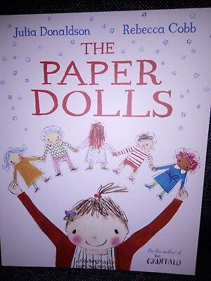 The Paper Dolls Paperback Book  Julia Donaldson Free Postage