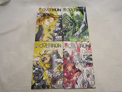 Overrun #1-4 - signed - New 2017