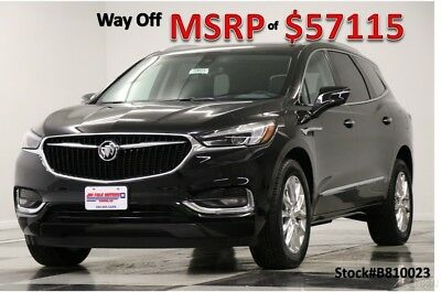 Buick Enclave Premium AWD Heated Cooled Leather Sunroof Camera E 2018 Premium AWD Heated Cooled Leather Sunroof Camera E New 3.6L V6 24V AWD SUV