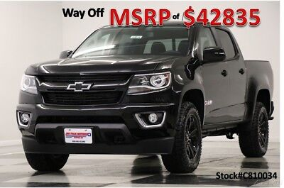 Chevrolet Colorado 4WD Z71 4WD  Heated Leather Navigation Midnight Ed 2018 4WD Z71 4WD  Heated Leather Navigation Midnight Ed New 3.6L V6 24V 4WD Bose