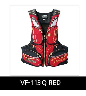 Shimano Nexus Floating vest VF-113Q Limited pro Size RED M
