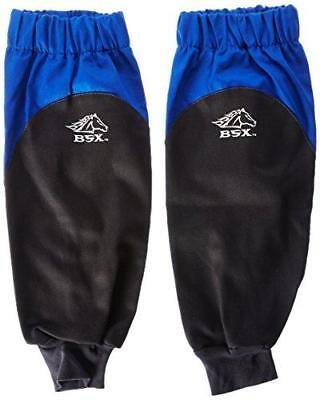 Revco BX9-19S-RB BSX Reinforced Fire Resistant Sleeves, Royal Blue/Black (One