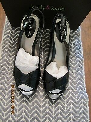 KELLY AND KATIE DSW shoes pumps heels black Driella size 10