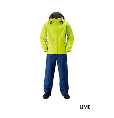 Shimano RA-027Q DS Basic Suit SIZE RED M Breathable-Waterproof