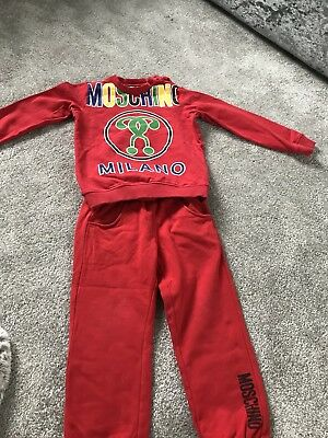 boys moschino Tracksuit Age 3