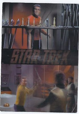 1999 Star Trek Original Series in MotionTrading Card Set of 24-Big 3-D KATC-007 Star Trek