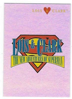 LOIS & CLARK The New Adventures of SUPERMAN -Foil Insert Card # L&C5 NM/M