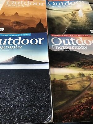 Outdoor Photography Magazines Four In Total from 2017