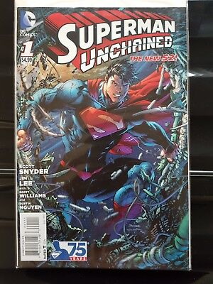 Superman Unchained #1 Jim Lee & Scott Snyder New 52 First 1St Print Hot