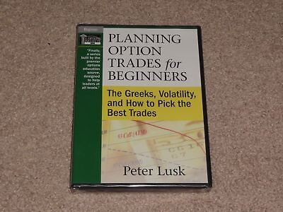 Peter Lusk Planning Option Trades for Beginners Greeks Volatility & Pick Trades