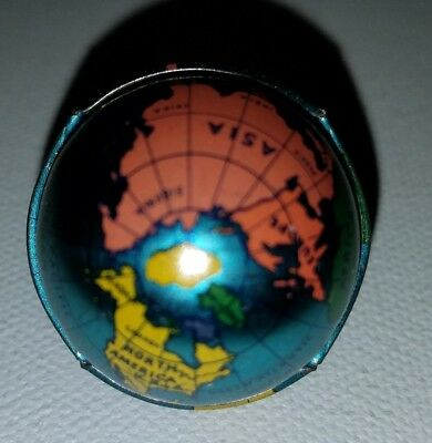 Cracker Jack Tin Globe