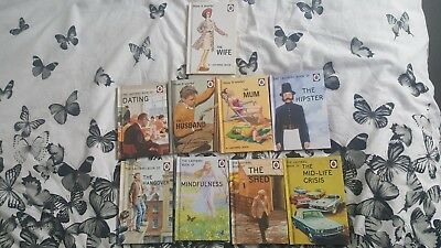 9x Ladybird adult books and how it works books