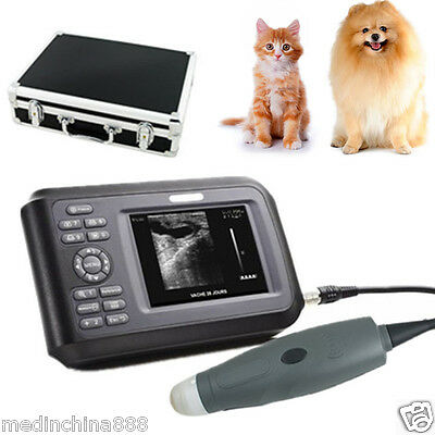 Veterinary WristScan Ultrasound Scanner Monitor with Probe Animals Medical USA