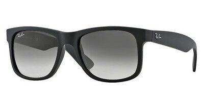 Ray-Ban RB 4165 601/8G Sonnenbrille Justin black rubber