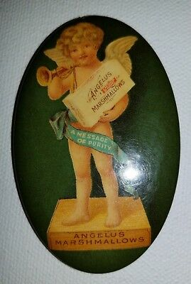 Cracker Jack Angelus Marshmallows Pocket Mirror