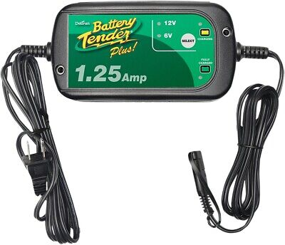 Battery Tender 022-0211-DL-WH 1.25 Amp Selectable Charger