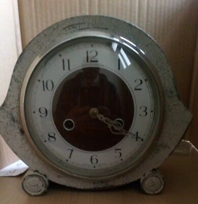 Vintage Smiths Enfield striking mantel clock - in working condition
