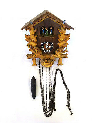German Chalet Musical Cuckoo Clock with Swiss Musical Movement Spares Repairs