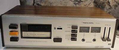 Vintage Realistic  8 Track Player,recorder. # Tr-801 Model 14 - 925A