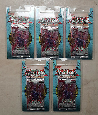 Yu-Gi-Oh Galactic Overlord 5xBooster OVP Blister 1. Auflage Englisch
