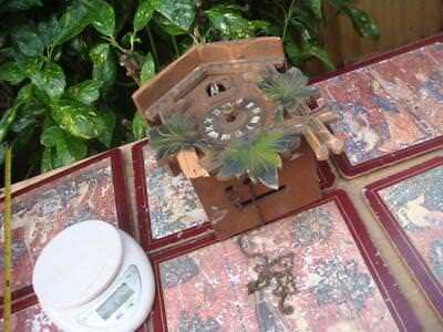 Vintage Clock  Part , WALL  CUCKOO CLOCK FOR PART OR SPARE