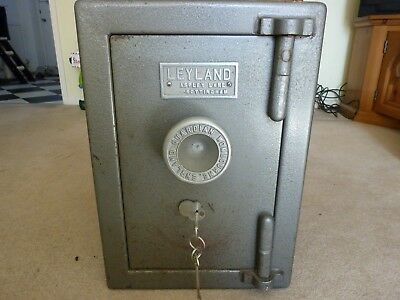 Antique / Vintage Safe by Leyland, rare small size