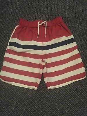 Boys Age 8-9 Years Striped Fat Face Swim /  Shorts - never worn