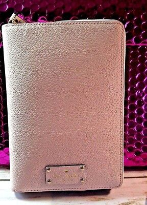 Kate Spade Wellesley Personal Zipper Planner In Soft Pink- Price Reduced $20!