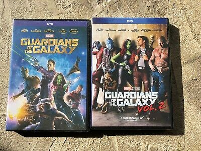 Guardians of the Galaxy DVD Volumes 1-2 Bundle Free Shipping!