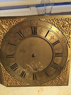 30 Hour Longcase Clock dial and movement