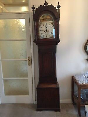 Mahogany Longcase/grandfather Clock