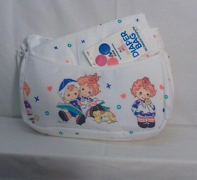Raggedy Ann and Andy Diaper Bag manufactured by Dolly
