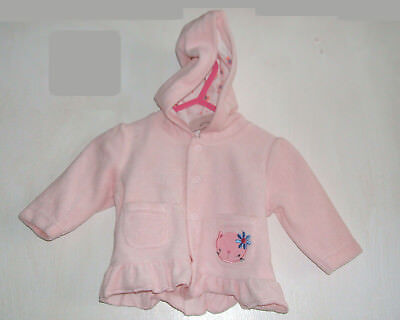 Baby pink jacket 2 pockets new taged by Pep & Co size newborn