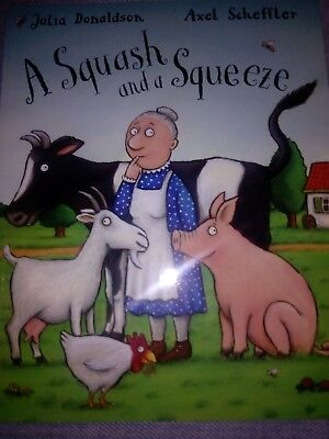 A Squash And A Squeeze Julia Donaldson Brand New Paperback Book Free Postage