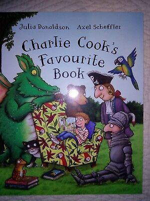 Charlie Cook's Favourite Book by Donaldson Julia Paperback BRAND NEW Free Post