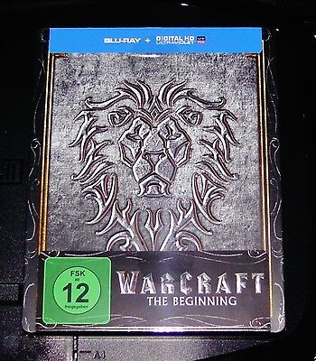 Warcraft The Beginning Marcado Limitada Steelbook Edición Blu-ray