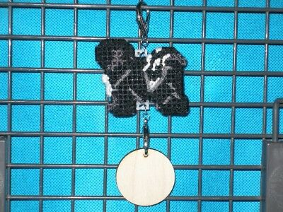 Tibetan Terrier #2 dog crate tag or hang anywhere pet sign any day ornament