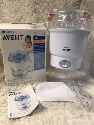 Philips AVENT iQ 24 Electric Steam Sterilizer Baby Bottles Food Jars Disinfects