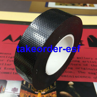 BLACK RUBBER 23MM Self Adhesive High Voltage Insulation