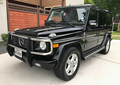 2005 Mercedes-Benz G-Class G500 Grand Edition Grand Edition Series- Hand Built in Graz Austria - No. 460 out of 500 Ever Made!