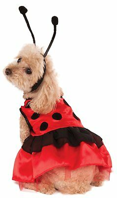 Lovely Ladybug Lady Bug Animal Insect Cute Pet Shop Halloween Dog Cat Costume